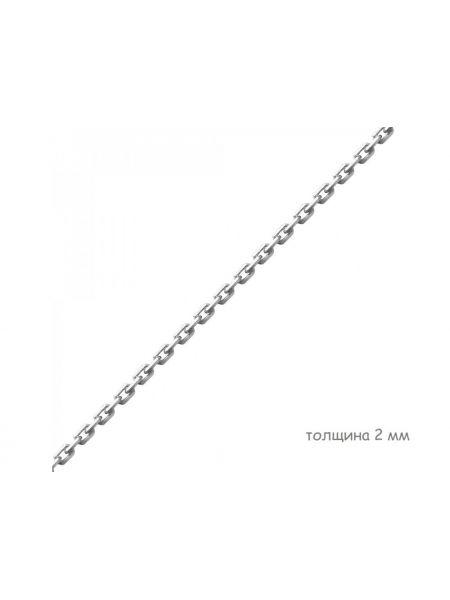 Цепочка якорная с алмазной гранью (арт. Ц1ЯК17СР018060)