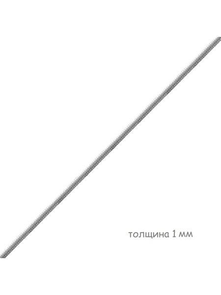 Цепочка родированная снейк (арт. Ц1ПН27РО060025)