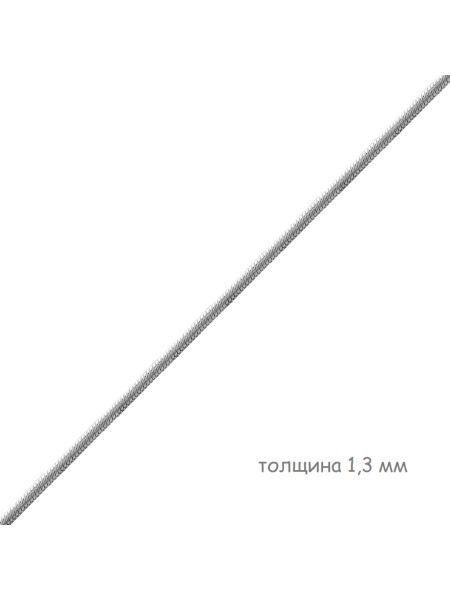 Цепочка родированная снейк (арт. Ц1ПН27РО060030)