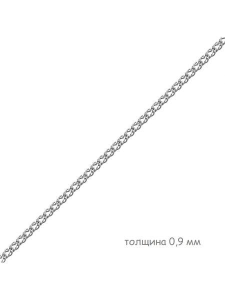 Цепочка родированная двойной ромб (арт. Ц1РМ27РО052040)