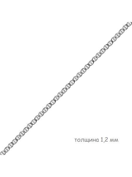 Цепочка родированная якорная морская (арт. Ц1ТР07РО020100)