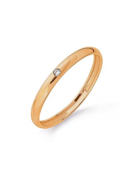 Обручальное кольцо с бриллиантом (арт. Т101013723)