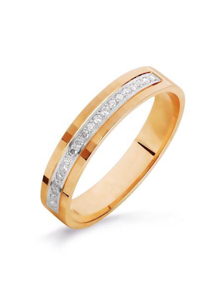 Обручальное кольцо с бриллиантом (арт. Т141616120)